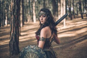 2020 Wonder Woman 5k Cosplay Wallpaper