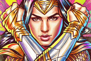 2020 Wonder Woman 84 Artwork