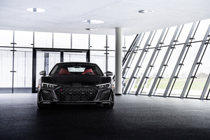 2021 Audi R8 RWD Panther Edition Front Look 10k Wallpaper
