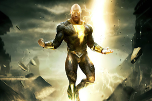 2021 Black Adam 4k Movie Wallpaper