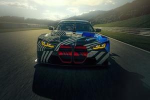 2021 BMW M4 GT3 5k Wallpaper