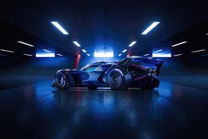 2021 Bugatti Bolide 4k Wallpaper