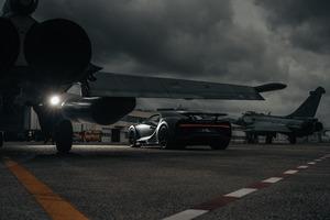 2021 Bugatti Chiron Sport Les Legendes Du Ciel 10k Wallpaper