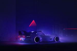 2021 Cyberpunk Corvette C3 Cgi 4k Wallpaper