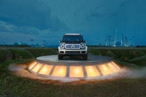 2021 Electric Mercedes Benz Concept EQG 10k Wallpaper
