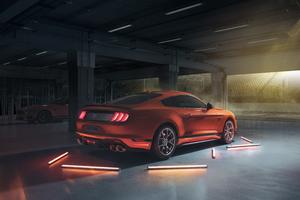 2021 Ford Mustang Mach 1 Rear Lights 5k Wallpaper