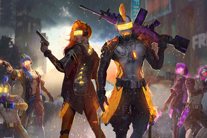 2021 Garena Free Fire Wallpaper