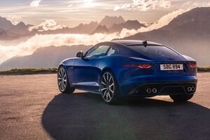 2021 Jaguar F Type Rear