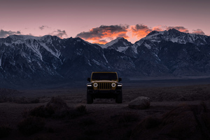 2021 Jeep Wrangler Rubicon 5k Wallpaper