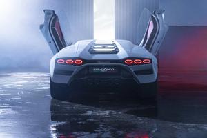 2021 Lamborghini Countach Lpi 800 Scissor Doors Wallpaper