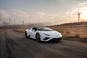 2021 Lamborghini Huracan Evo Rwd Spyder Wallpaper