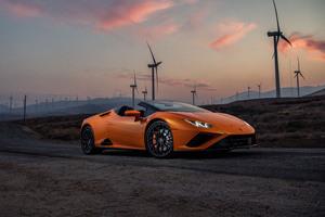 2021 Lamborghini Huracan Evo Rwd Spyder 5k Wallpaper