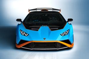 2021 Lamborghini Huracan Sto Wallpaper