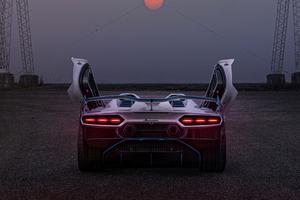 2021 Lamborghini SC20 Rear 4k Wallpaper