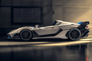 2021 Lamborghini SC20 Sid View Wallpaper