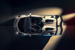 2021 Lamborghini SC20 Upper View Wallpaper