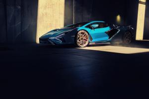 2021 Lamborghini Sian Wallpaper