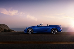 2021 Lexus LC 500 Convertible 10k Wallpaper