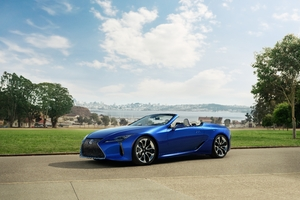 2021 Lexus LC 500 Convertible Wallpaper