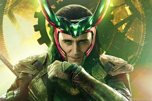 2021 Loki God Of Mischief Wallpaper