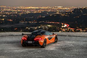 2021 McLaren 620 R 8k Wallpaper