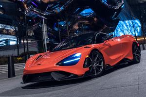 2021 McLaren 765 Lt Wallpaper