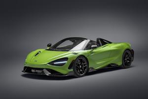 2021 McLaren 765L 5k Wallpaper