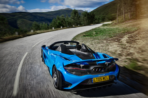 2021 McLaren 765LT Spider 8k Wallpaper