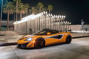 2021 McLaren 8k 620R Wallpaper