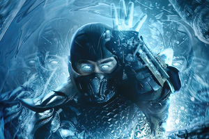 2021 Mortal Kombat Sub Zero Movie 4k Wallpaper