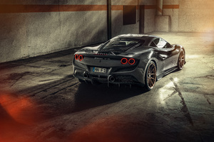 2021 Novitec Ferrari F8 Tributo Rear 10k Wallpaper