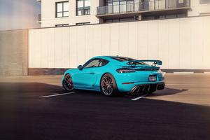 2021 Porsche Cayman GT4 5k Wallpaper