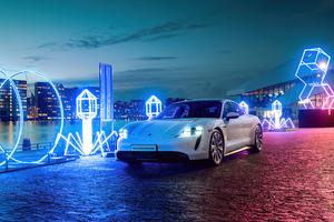 2021 Porsche Taycan 5k Wallpaper