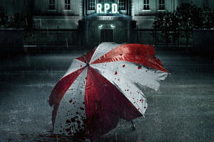 2021 Resident Evil Welcome To Raccoon City Wallpaper