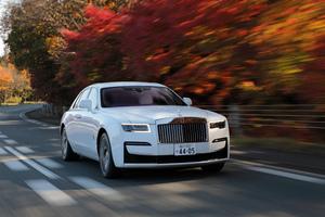 2021 Rolls Royce Ghost Wallpaper