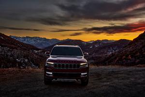 2022 Jeep Grand Wagoneer Series III 5k Wallpaper