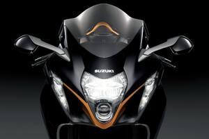 2022 Suzuki Hayabusa Front Wallpaper