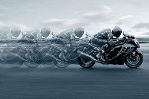 2022 Suzuki Hayabusa Wallpaper
