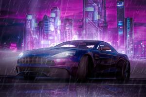 2077 Cyber Ride 5k Wallpaper