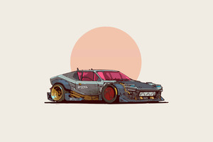 2077 De Tomaso Pantera Wallpaper