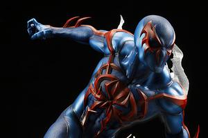 2099 Spider Man 4k Wallpaper