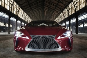 2106 Lexus LC 500 Wallpaper