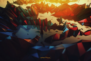 3 Dimensional Abstract Digital Art