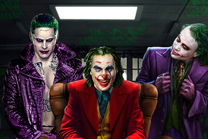 3 Jokers Wallpaper