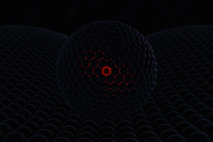 3d Abstract Red Cgi Digital Art 4k Wallpaper
