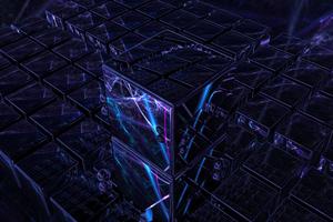 3d Cube Art 4k Wallpaper