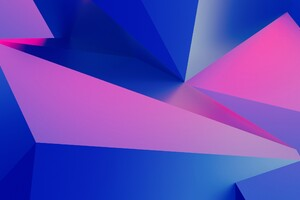 3d Geometry Abstract Wallpaper