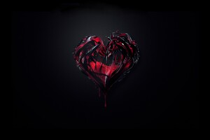 3d Heart Abstract Shape
