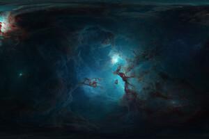 3d Nebula 4k