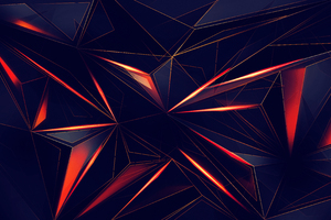 3d Shapes Abstract Lines 4k Wallpaper